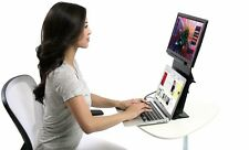VEYEM Portable Ergonomic Stand for Laptops, USB-Powered Monitors, and Tablets