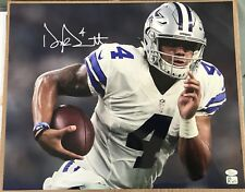 Dak Prescott Signed Autographed Dallas Cowboys 16x20 Photo JSA COA