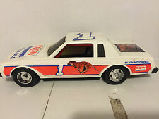 "Vintage 16"" Dick Brooks Exxon #1 Plastic Nascar Race Car by Gay Toys RARE"