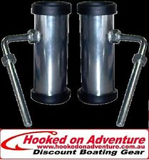 Rowlock Mount Rod Holders Stainless Steel