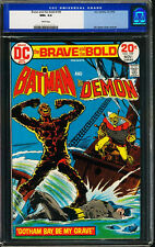 Brave and the Bold #109 CGC NM+ 9.6 Monterey Batman