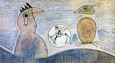 """Max Ernst  Rare Lithograph - """"Oiseaux"""".  Hand Signed by Artist"""