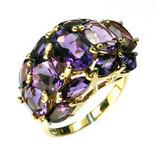 11.2ct Amethyst Ring set in 14kt Yellow Gold