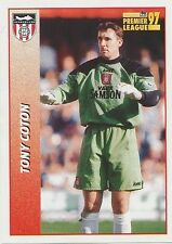 N°458 TONY COTON SUNDERLAND.FC STICKER MERLIN PREMIER LEAGUE 1997
