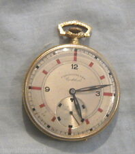 #S1. 18 Carat Gold Unisex Fob Watch - Working