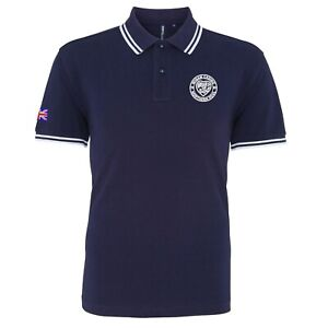 Men's Wigan Casino Heart Of Soul Tipped Polo Shirt With Embroidered Logo. Retro.