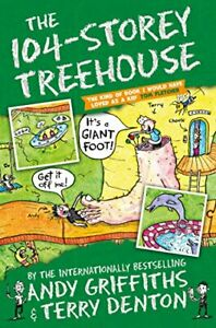 The 104-Storey Treehouse (The Treehouse Books) by Griffiths, Andy Book The Cheap
