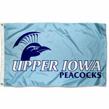 Upper Iowa Peacocks Flag Large 3x5