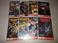Guardians 3000 #1-8 (Complete 2014 Marvel Series) Original Guardians of Galaxy