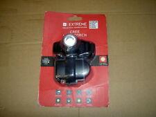 Extreme CREE cabeza linterna 150 LM Nuevo Sellado requiere 3 baterías xAAA