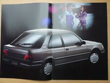 PEUGEOT 309 brochure in French, MY 1992