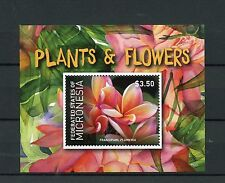 Micronesian Flowers Sheet Postal Stamps