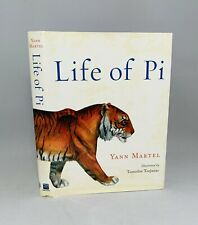 Life of Pi-Yann Martel-SIGNED!!-First Illustrated Edition/1st Printing!!-RARE!!
