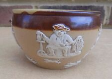 ROYAL DOULTON Stoneware Harvest / Hunting Scene Small Bowl