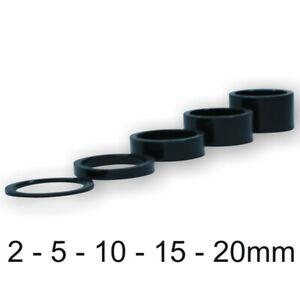 """Spacer Steuersatz Ahead 2/5/10/15/20 mm schwarz matt Alu 1 1/8 """" 28,6 mm"""