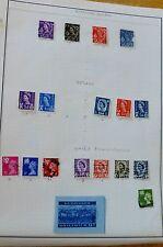 Wales & Monmouthshire,Scotland,No rthern Ireland,Guernsey Stamp Set