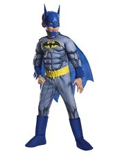 Batman Unlimited Deluxe Muscle Kids Costume Superhero Size Large 12-14