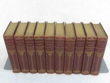 Lot of 10 WORKS OF WILLIAM THACKERAY Thomas Y. Crowell 10 Vol Set 1900s