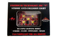 "FIREHOUSE ARC ""V"" DRONE STROBE LIGHT (WHITE) SPOT LIGHT DJI MAVIC AUTEL PARROT"