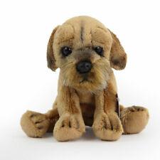 Stofftier kleiner Border Terrier, sitzend, Hund, Plüschtier (H. ca. 12 cm)