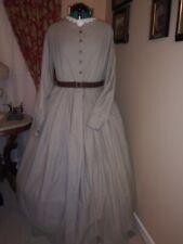 Clearance Save 30% Civil War Reenactment Work Dress Sz 26 Was $190 Now $133