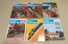Lot of 40 Issues Model Railroader Magazine 1970 1971 1972 Set Good Condition