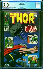 Thor 141 CGC 7.0 -- 1967 -- Who is Replicus? Kirby cover #2014453010