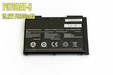 Replacement 6-87-P37ES-4271 P370BAT-8 battery For Clevo X900 P370EM SERIES
