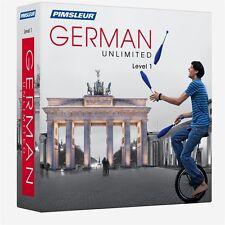 NEW Pimsleur Unlimited GERMAN Language Course 30 Lessons