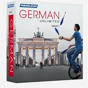 Pimsleur Unlimited GERMAN Language Course 30 Lessons (Level 1) Comprehensive