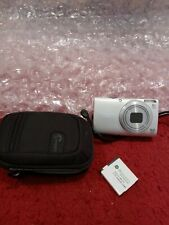 Canon PowerShot A4000 IS 16.0MP 8x Digital Camera - Silver