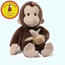 "RETIRED GUND - MONKEY - 20""  CURIOUS GEORGE - 75TH ANNIVERSARY - COLLECTIBLE"