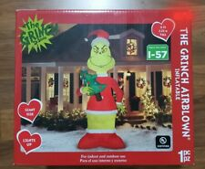 Christmas 11 ft Grinch Tree Inflatable Decorations Outdoor Yard Decor Sculpture