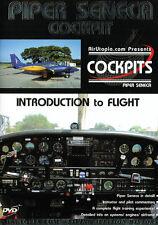 Piper Seneca  Cockpit - Introduction to Flight DVD