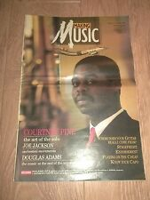MAKING MUSIC MAGAZINE ISSUE 14 MAY 1987 ~ COURTNEY PINE / JOE JACKSON & MORE