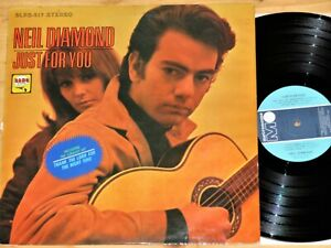 LP Neil Diamond - Just for You - Bang Records - BLP 217