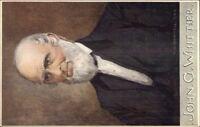 TUCK Oilette Men of Letters CW Quinnell c1910 Postcard JOHN WHITTIER