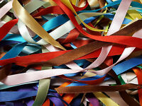 Satin Ribbon Bargain Bundle Packet o Berisfords 3mm 7mm 10mm 15mm 25mm 35mm 50mm
