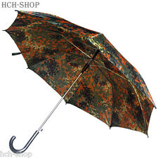 MFH Regenschirm Stockschirm groß flecktarn Jagd Angler Regenschutz Ø 1,05 m