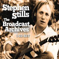 Stephen Stills : The Broadcast Archives CD Box Set 3 discs (2019) ***NEW***