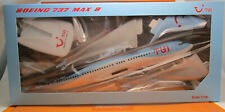Herpa Snap Fit 612166 TUI fly Germany Boeing 737 MAX 8 Scale 1/100