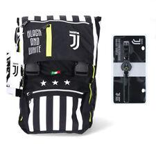 Juventus Zaino Sdoppiabile Big Scuola 2020/21 Seven Best Match + Orologio Lowell