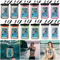 4 Packs Swimming Underwater Pouch Bag Pack Waterproof Dry Case for Smart Phone