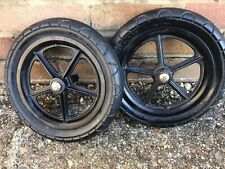 Pair Bugaboo Cameleon 1 or 2 Foam Filled Rear Wheels - also fits Frog & Gecko