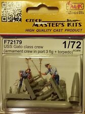 USS Gato class crew with torpedo Special Hobby - CMK 1:72 resin figures F72179