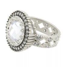 Freida Rothman Round Crown Edge Ring Size 9 NWT Retail $180
