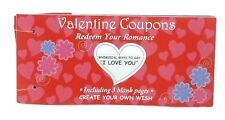 Valentine Coupons 24 Whimsical Ways To Say I Love You, Valentine's Day Gift, NEW