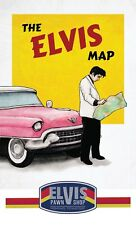 The Elvis Map - Guide To Memphis / Tupelo - Graceland