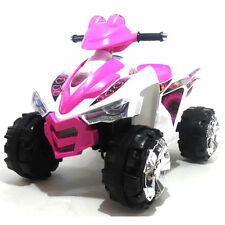 Kids Ride on Quad 12v Battery Powered Electric ChildrensToy Bike Pink