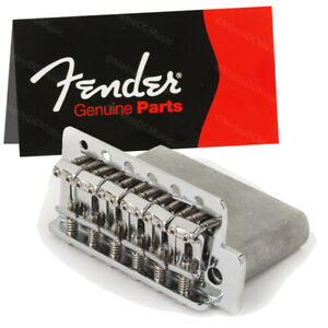 Genuine Fender Vintage Style Standard Series Stratocaster Tremolo Bridge NEW